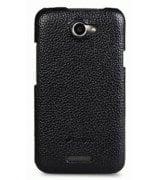 Melkco кожаная накладка для HTC One X S720e Black