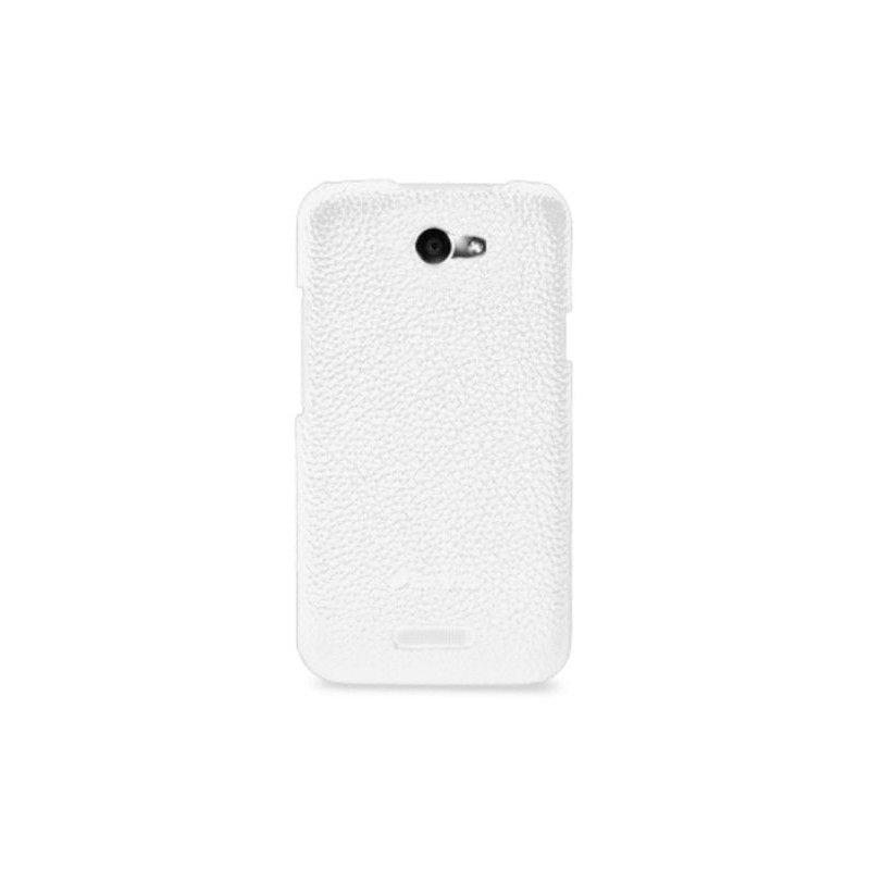 Melkco кожаная накладка для HTC One X S720e White