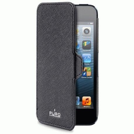 Чехол Puro Booklet Case для Apple iPhone 5 Black