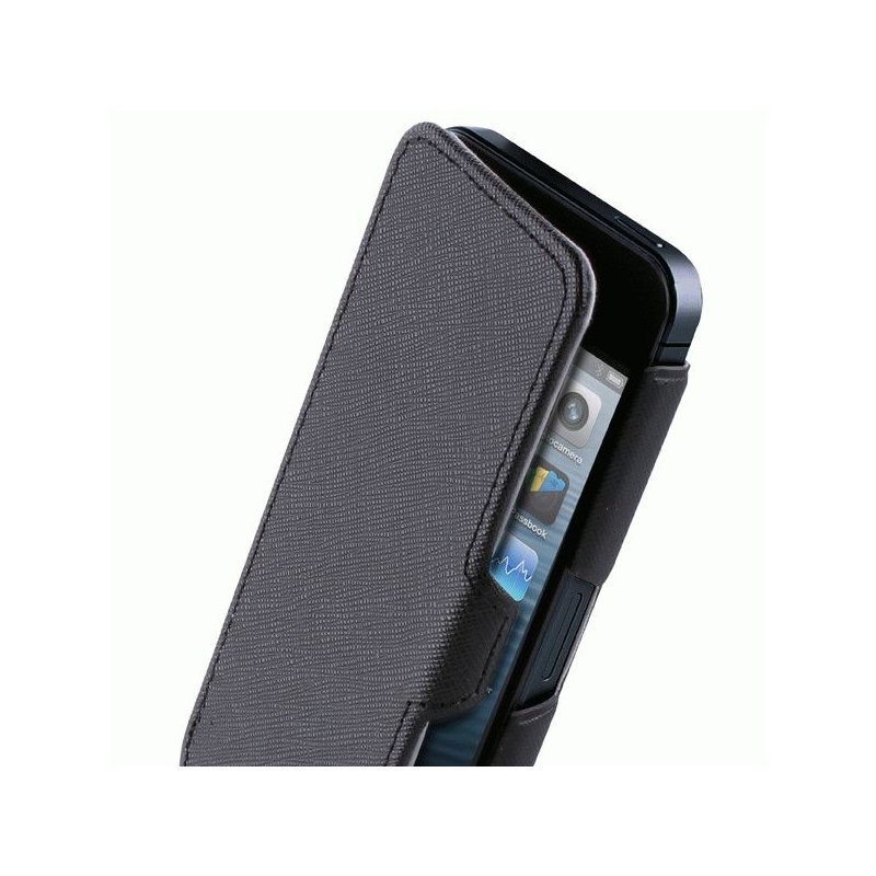 Чехол Puro Booklet Case для Apple iPhone 5 Black