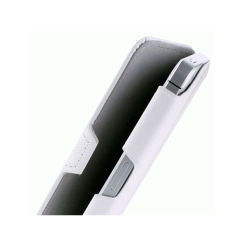 Чехол Puro Booklet Case для Apple iPhone 5 White