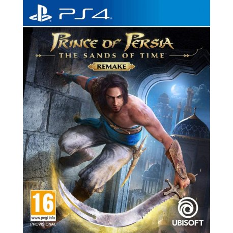 Игра Prince of Persia: The Sands of Time Remake (PS4, Русская версия)