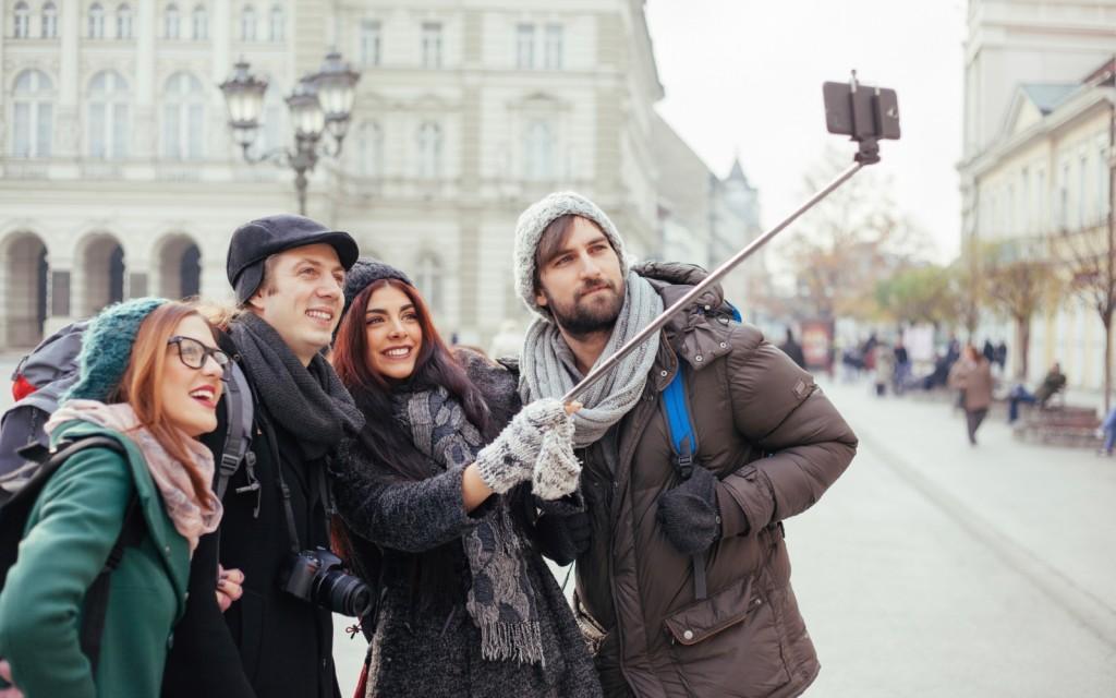 Селфи палки для блогеров