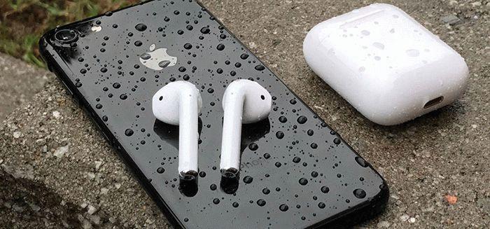 Airpods и iPhone 7