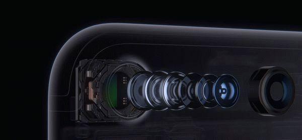 Камера седьмого айфона