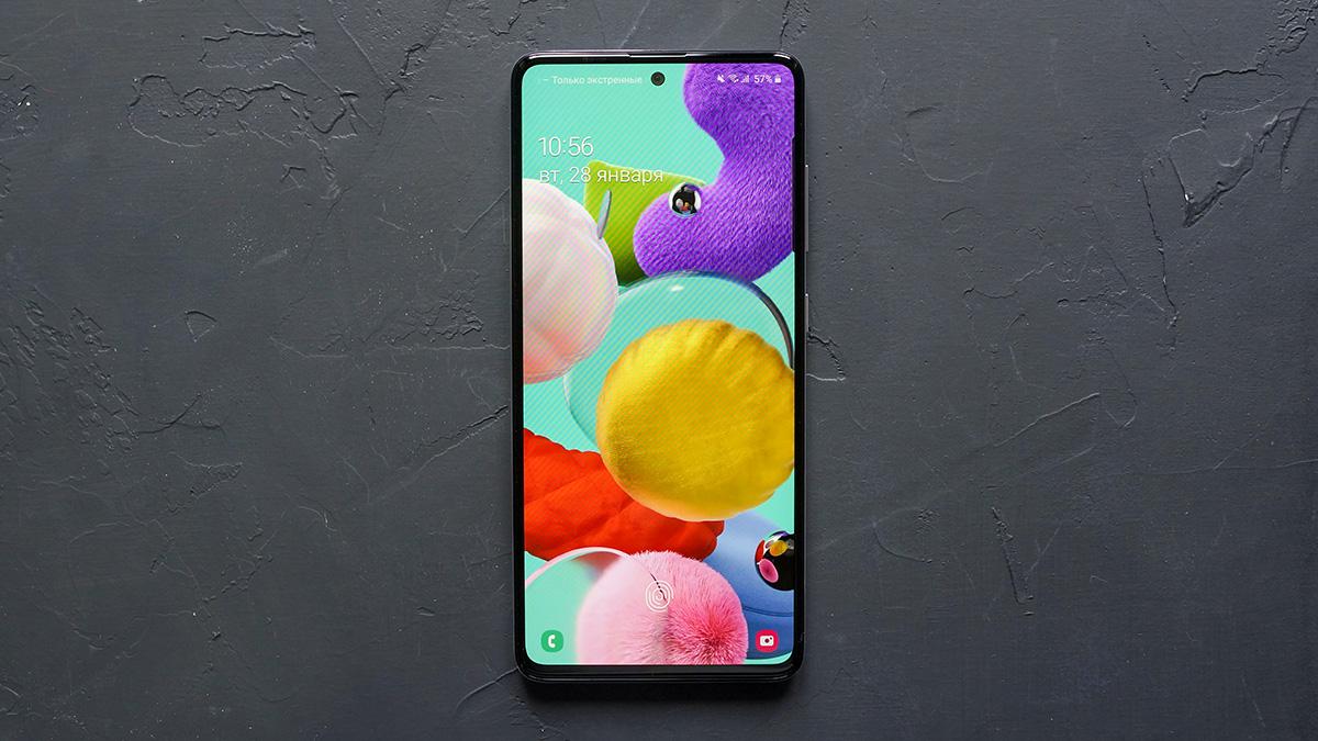 Смартфоны Samsung Galaxy A51