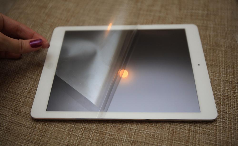 Защитная пленка на iPad