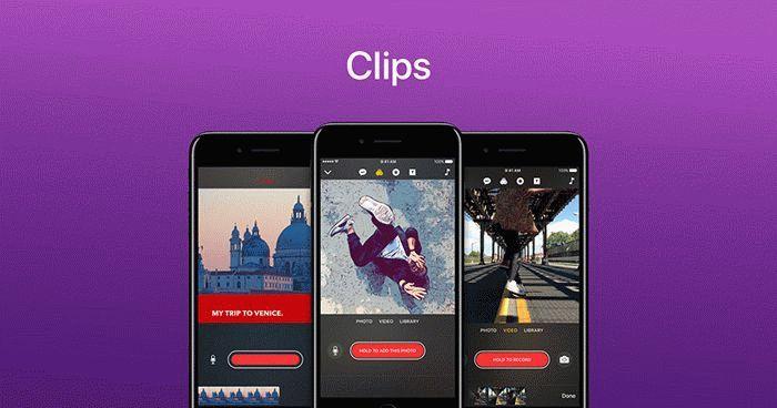 Приложение Clips
