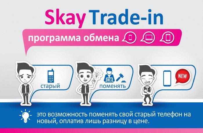 Skay Trade-in – программа обмена телефонов
