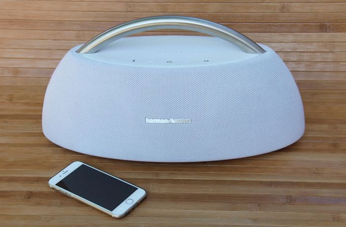 Акустика Harman Kardon Go Play Mini и iPhone