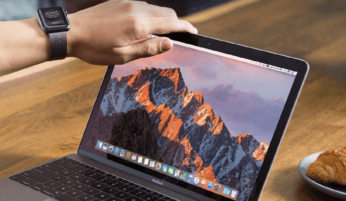 macOS Sierra и Apple Watch