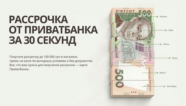 Оплата частями и Мгновенная рассрочка